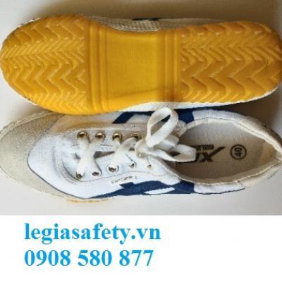 Giày Vải XP - Giày Mũi Da 1