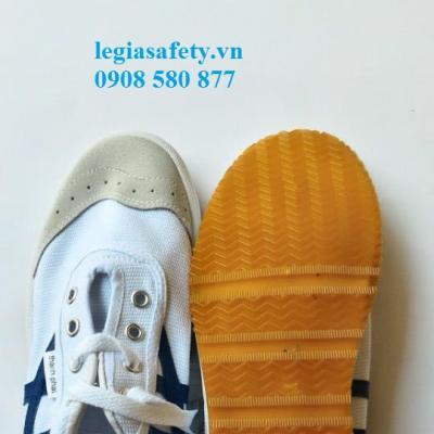 Giày Vải XP - Giày Mũi Da 2