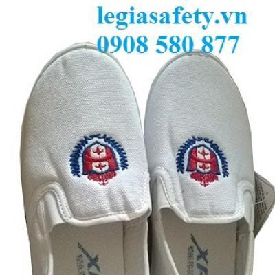 Giày Vải Lười Nữ - XP TP14 ( Trắng)