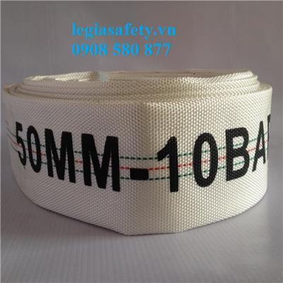 Vòi Chữa Cháy D50 - TQ - 10 Bar - 20 Mét